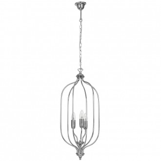 ALDEX 889E/4 | Tifra Aldex visilice svjetiljka 3x E14 krom