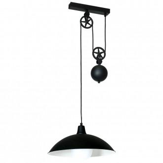 ALDEX 901G1 | Danton-I Aldex visilice svjetiljka balansna - ravnotežna, sa visinskim podešavanjem 1x E27 crno