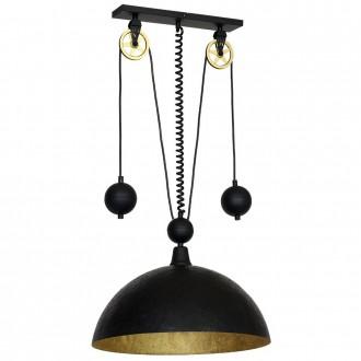 ALDEX 901G3 | Danton-I Aldex visilice svjetiljka balansna - ravnotežna, sa visinskim podešavanjem 1x E27 crno