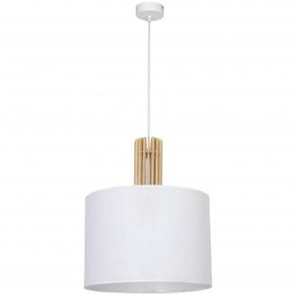 ALDEX 903G | Castro Aldex visilice svjetiljka 1x E27 bijelo, drvo