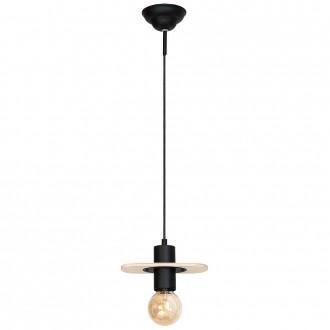 ALDEX 940G | Alba-I Aldex visilice svjetiljka 1x E27 crno, bezbojno