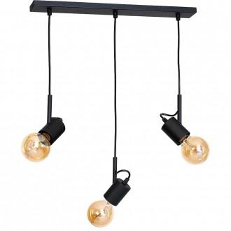 ALDEX 944E | Aluna Aldex visilice svjetiljka 3x E27 crno