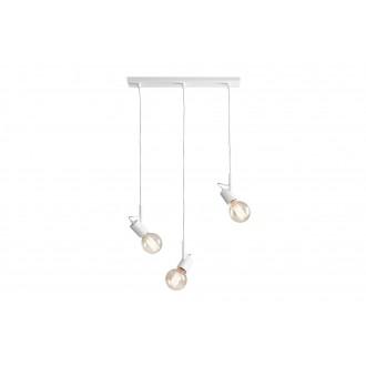 ALDEX 945E | Aluna Aldex visilice svjetiljka 3x E27 bijelo