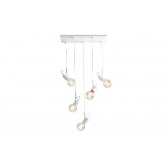 ALDEX 945F | Aluna Aldex visilice svjetiljka 5x E27 bijelo