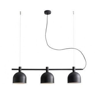 ALDEX 976E/1 | Beryl Aldex visilice svjetiljka 3x E27 crno, bijelo