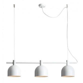 ALDEX 976E | Beryl Aldex visilice svjetiljka 3x E27 bijelo