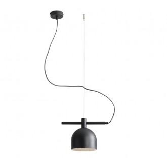 ALDEX 976G1 | Beryl Aldex visilice svjetiljka 1x E27 crno, bijelo