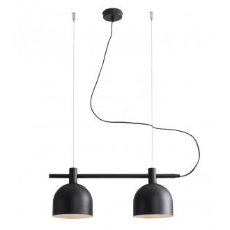 ALDEX 976H1 | Beryl Aldex visilice svjetiljka 2x E27 crno, bijelo