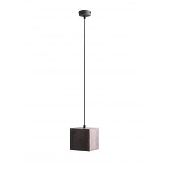 ALDEX 982G21 | Bit-AL Aldex visilice svjetiljka 1x GU10 tamno drvo, crno
