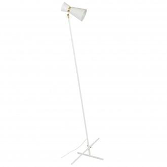 ALDEX 988A   Kedar Aldex podna svjetiljka 161cm s prekidačem 1x E27 bijelo, zlatno