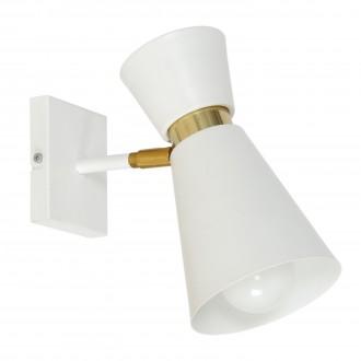 ALDEX 988C   Kedar Aldex zidna svjetiljka elementi koji se mogu okretati 1x E27 bijelo, zlatno