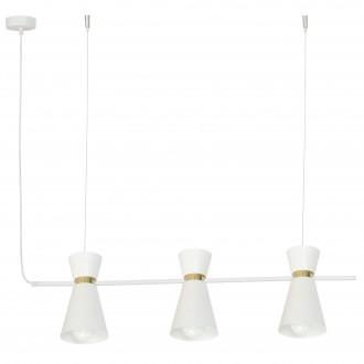 ALDEX 988E   Kedar Aldex visilice svjetiljka 3x E27 bijelo, zlatno