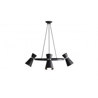 ALDEX 989E1/K   Kedar Aldex visilice svjetiljka 3x E27 crno, krom