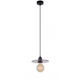 ALDEX 999G/M | Dysk Aldex visilice svjetiljka 1x E27 crno, prozirna