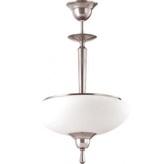 AMPLEX 101 | Agat Amplex visilice svjetiljka 2x E14 krom, bijelo