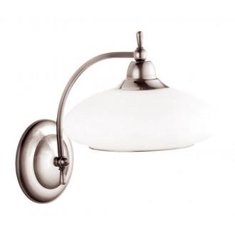 AMPLEX 102 | Agat Amplex zidna svjetiljka 1x E14 krom, bijelo