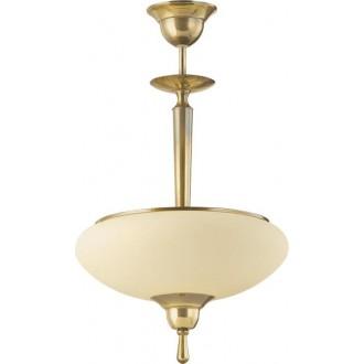 AMPLEX 110 | Agat Amplex visilice svjetiljka 2x E14 zlatno, krem