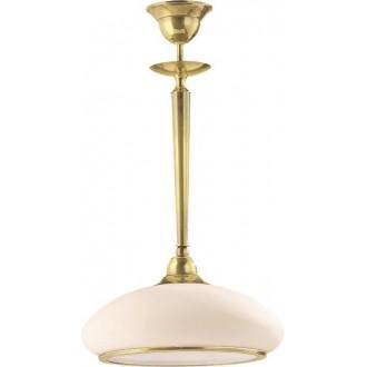 AMPLEX 112 | Agat Amplex visilice svjetiljka 1x E27 zlatno, krem