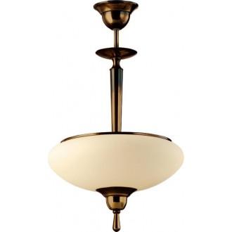 AMPLEX 425 | Agat Amplex visilice svjetiljka 2x E14 mat patinastosto, krem