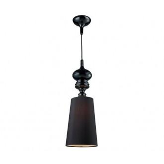 AZZARDO 0064 | Baroco Azzardo visilice svjetiljka 1x E27 crno, antik