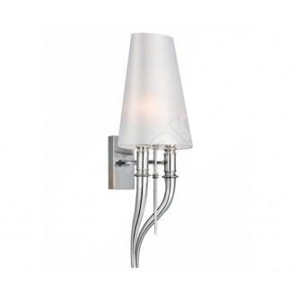 AZZARDO 0087 | Diablo-AZ Azzardo zidna svjetiljka 2x E14 krom, bijelo