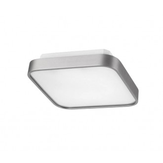 AZZARDO 0202 | Quadro-AZ Azzardo stropne svjetiljke svjetiljka 1x G5 / T5 aluminij, bijelo