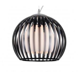 AZZARDO 0477 | Arcada Azzardo visilice svjetiljka 1x E27 krom, crno