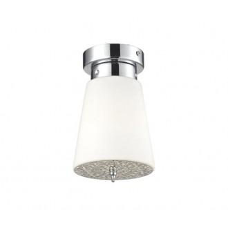 AZZARDO 0495 | Deco-AZ Azzardo stropne svjetiljke svjetiljka 1x E27 krom, bijelo
