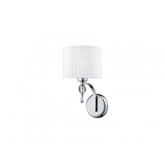AZZARDO 0503 | Impress-AZ Azzardo zidna svjetiljka 1x E27 krom, bijelo, kristal