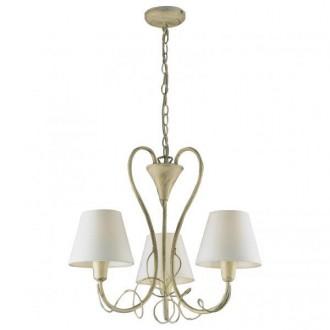 AZZARDO 0514 | Giulietta-AZ Azzardo luster svjetiljka 3x E14 ecru