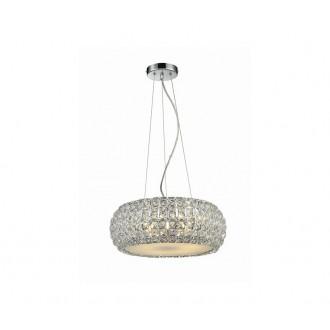 AZZARDO 0520 | Sophia Azzardo visilice svjetiljka 3x E14 krom, kristal