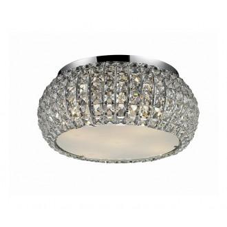 AZZARDO 0521 | Sophia Azzardo stropne svjetiljke svjetiljka 5x E14 krom, kristal