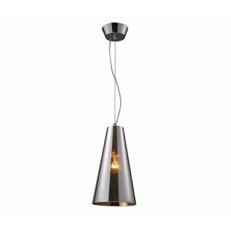 AZZARDO 0995 | Capo Azzardo visilice svjetiljka 1x E27 krom, prozirno