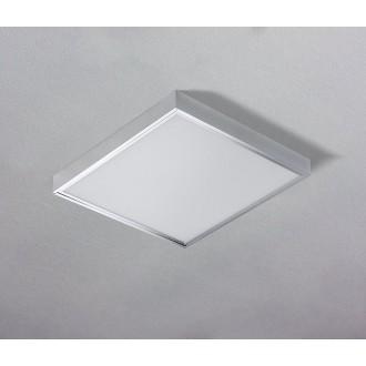 AZZARDO 1272   Panel-AZ Azzardo spušteni plafon, stropne svjetiljke, visilice LED panel četvrtast 1x LED 4600lm 3000K aluminij, bijelo