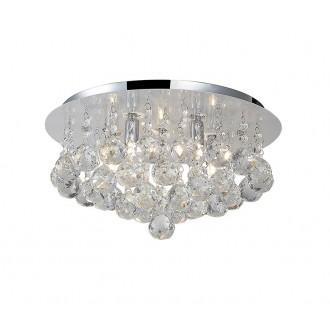AZZARDO 1286 | Bolla Azzardo stropne svjetiljke svjetiljka 5x G9 krom, prozirno, kristal