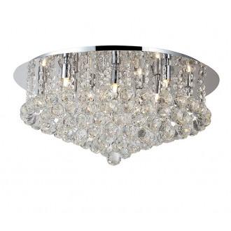 AZZARDO 1288 | Bolla Azzardo stropne svjetiljke svjetiljka 10x G9 krom, prozirno