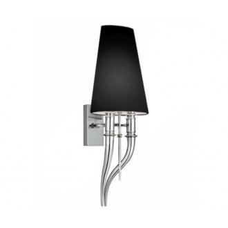 AZZARDO 1343 | Diablo-AZ Azzardo zidna svjetiljka 2x E14 krom, crno