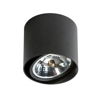 AZZARDO 1357   Alix_Alex Azzardo stropne svjetiljke svjetiljka cilindar jačina svjetlosti se može podešavati, izvori svjetlosti koji se mogu okretati 1x G53 / AR111 crno