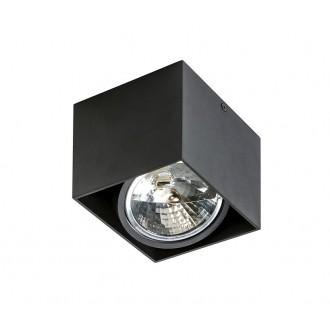 AZZARDO 1358   Alix_Alex Azzardo stropne svjetiljke svjetiljka pravotkutnik jačina svjetlosti se može podešavati, izvori svjetlosti koji se mogu okretati 1x G53 / AR111 crno