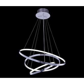 AZZARDO 1431 | Wheel Azzardo visilice svjetiljka s mogućnošću skraćivanja kabla 1x LED 4600lm 3000K krom, bijelo
