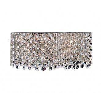 AZZARDO 1511 | Roma-AZ Azzardo zidna svjetiljka 2x G9 krom, prozirna