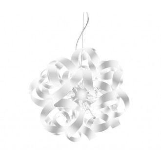 AZZARDO 1692 | Delta-AZ Azzardo visilice svjetiljka 9x G9 bijelo mat