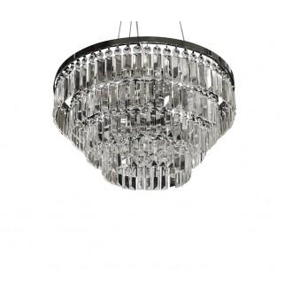 AZZARDO 2107 | Salerno-AZ Azzardo stropne svjetiljke, visilice svjetiljka 5x G9 krom, kristal