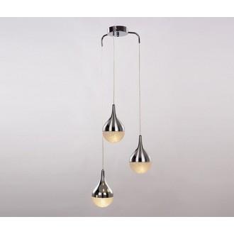 AZZARDO 2174   Cecilia-AZ Azzardo visilice svjetiljka 3x G9 krom, prozirna