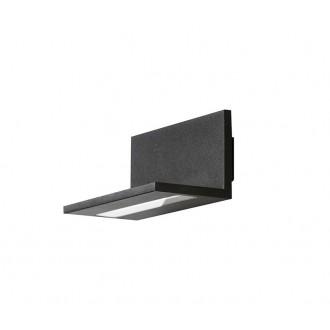 AZZARDO 2204   Latona Azzardo zidna svjetiljka 1x LED 800lm 3000K crno
