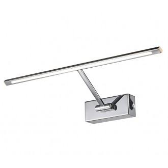 AZZARDO 2645 | Monalisa-AZ Azzardo ovetljenje ogledala svjetiljka pomjerljivo 1x LED 275lm 3000K krom
