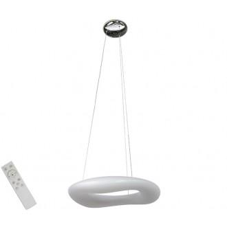 AZZARDO 2672 | Donut-AZ Azzardo visilice svjetiljka daljinski upravljač jačina svjetlosti se može podešavati 1x LED 5440lm 2700 <-> 6000K bijelo