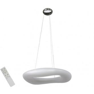 AZZARDO 2674 | Donut-AZ Azzardo visilice svjetiljka daljinski upravljač jačina svjetlosti se može podešavati 1x LED 13940lm 2700 <-> 6000K bijelo