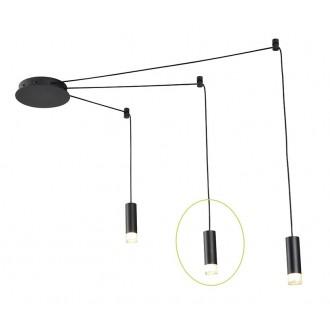 AZZARDO 2679 | Ziko Azzardo element sustava svjetiljka 1x G9 crno