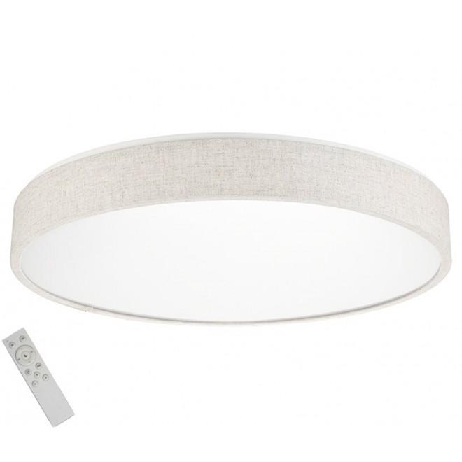 AZZARDO 2716   Collodi Azzardo stropne svjetiljke svjetiljka daljinski upravljač jačina svjetlosti se može podešavati, sa podešavanjem temperature boje 1x LED 3400lm 3000 <-> 6500K bež, bijelo